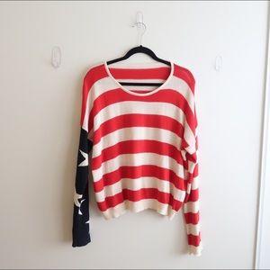 BM Cassidy American Flag Sweater